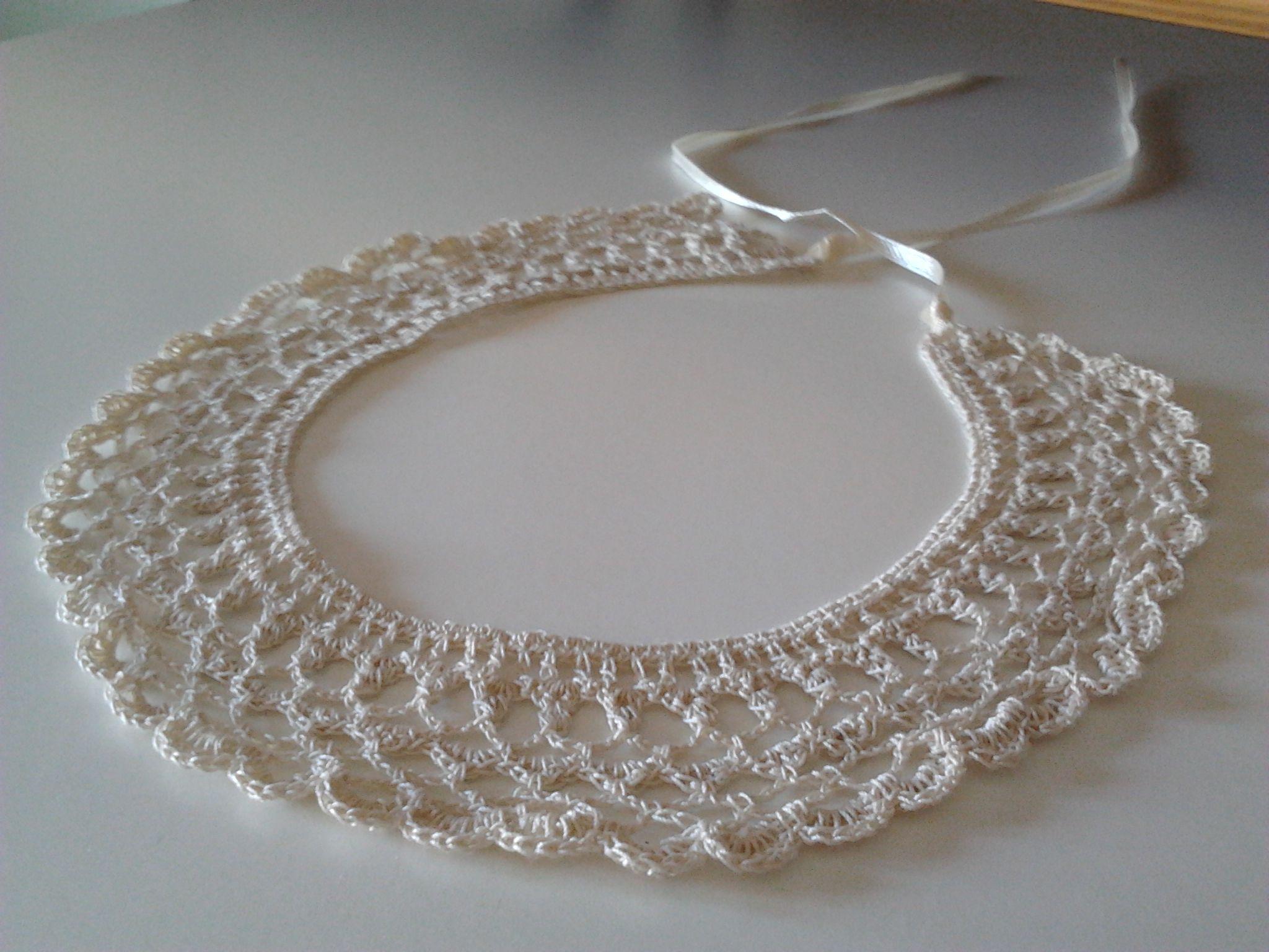 crocheted collar-free pattern | Recettes à cuisiner | Pinterest ...