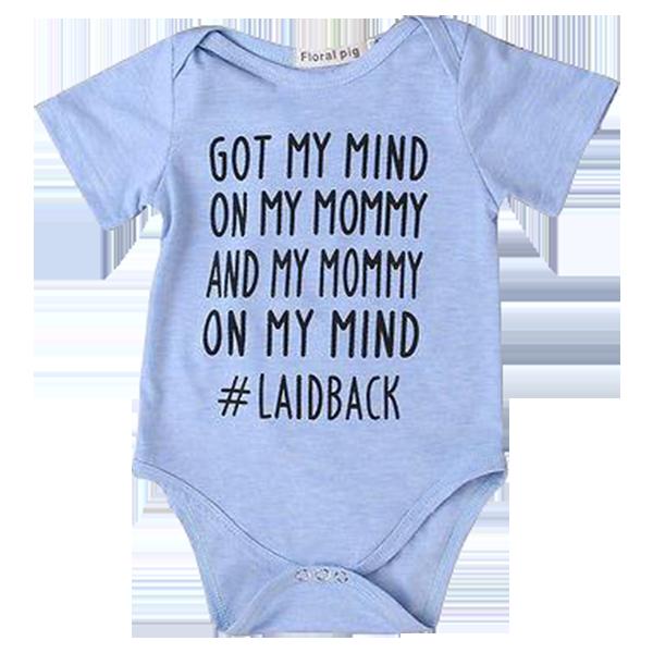 Baby Boy Gangsta Napper Bodysuit  0-3 months 18 months