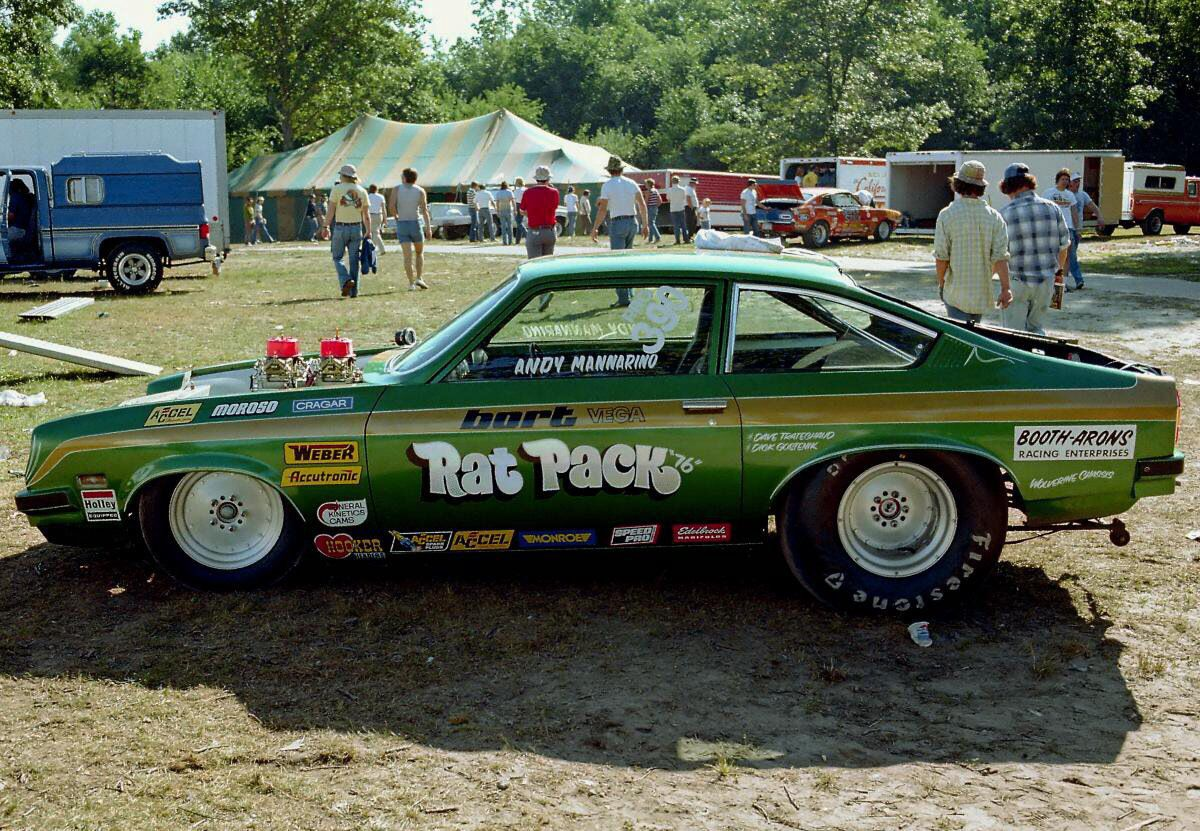 Vintage Drag Racing - Pro Stock -The Rat Pack Chevy Vega | Drag ...