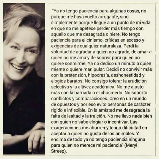 Frases Meryl Streep Frases De Meryl Streep Frases Y
