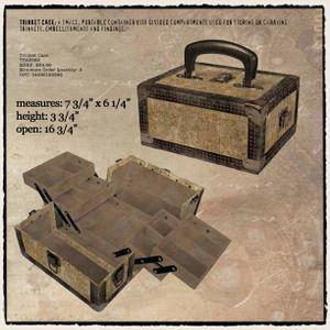 Tim Holtz Trinket Case - love it!