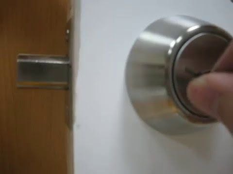 Open A Door Lock Without A Key 15 Tips For Getting Inside A Car Or House When Locked Out With Images Deadbolt Lock Deadbolt Door Locks