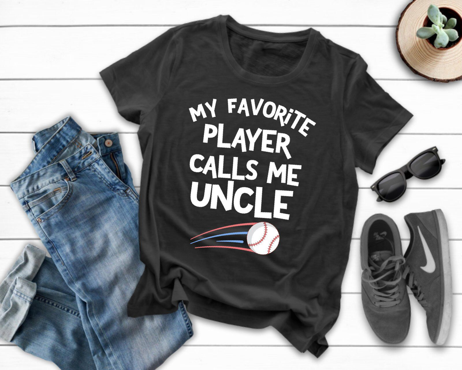 Short-Sleeve Unisex T-Shirt They Call Me Uncle
