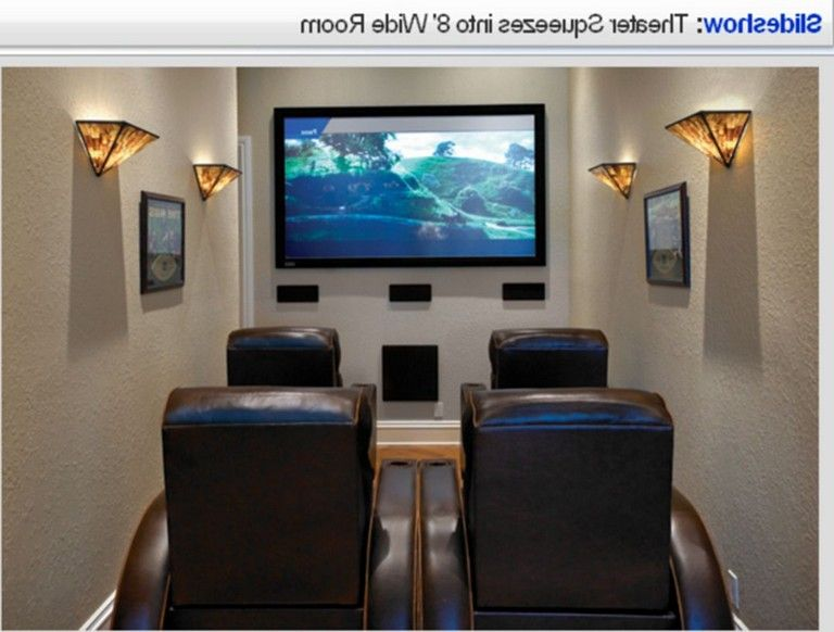 50 Comfy Small Movie Room Design Ideas For Your Happiness Family Small Media Rooms Small Movie Room Small Home Theater