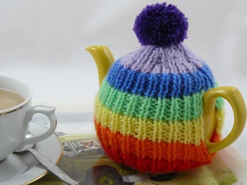 KNITTING PATTERN TEA COSY MULTI SIZES