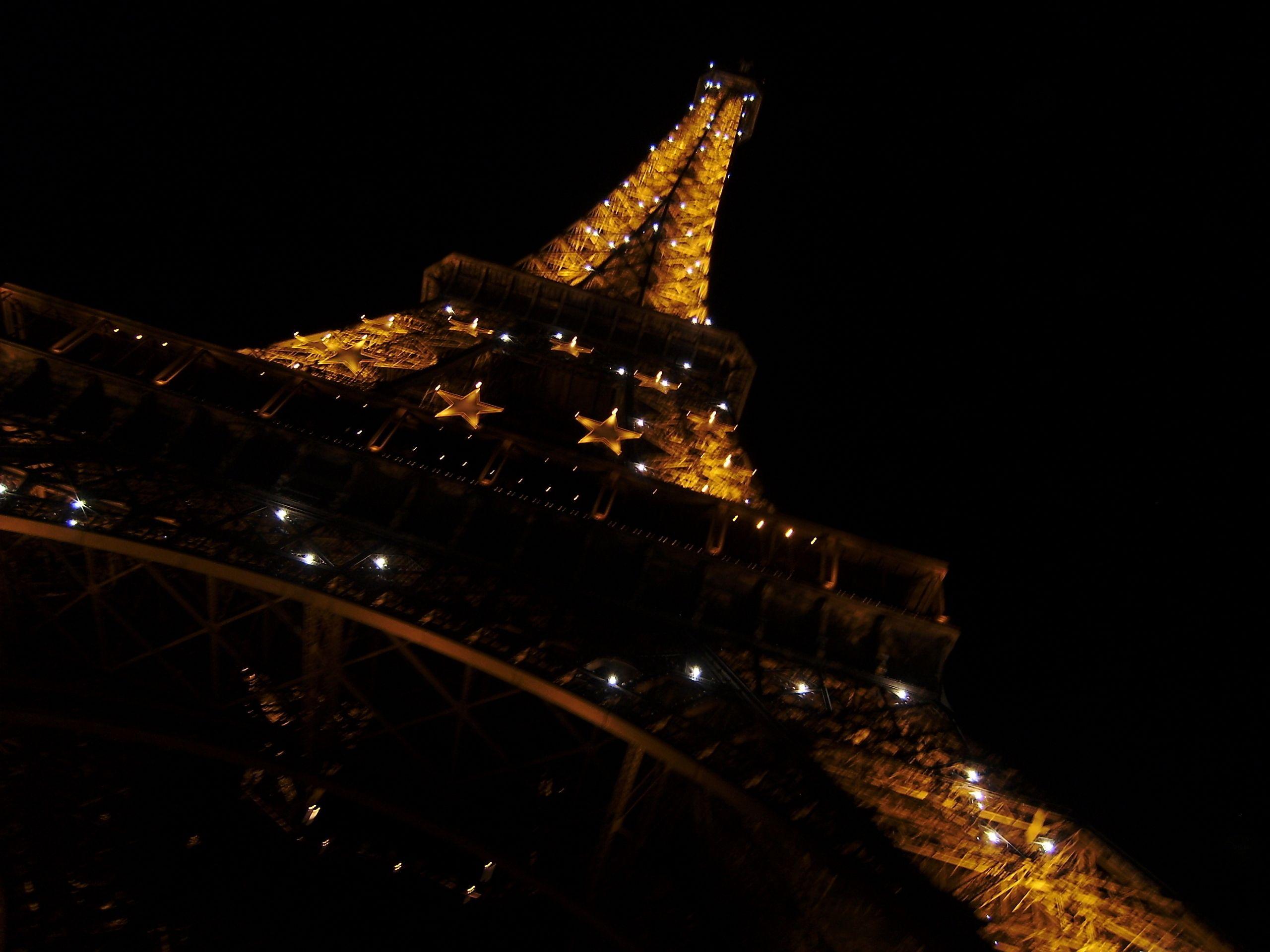 Eiffel Tower Paris Night In High Resolution Eiffel Tower Paris At Night Eiffel