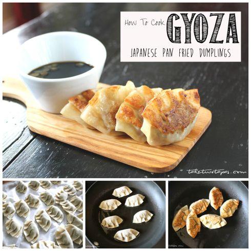 How to Make Japanese Pan Fried Dumplings - Gyoza | take two tapas