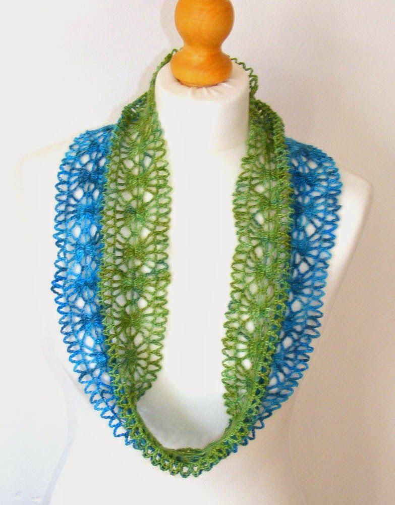 Infinity or moebius scarf free pattern | Crocheting | Pinterest ...