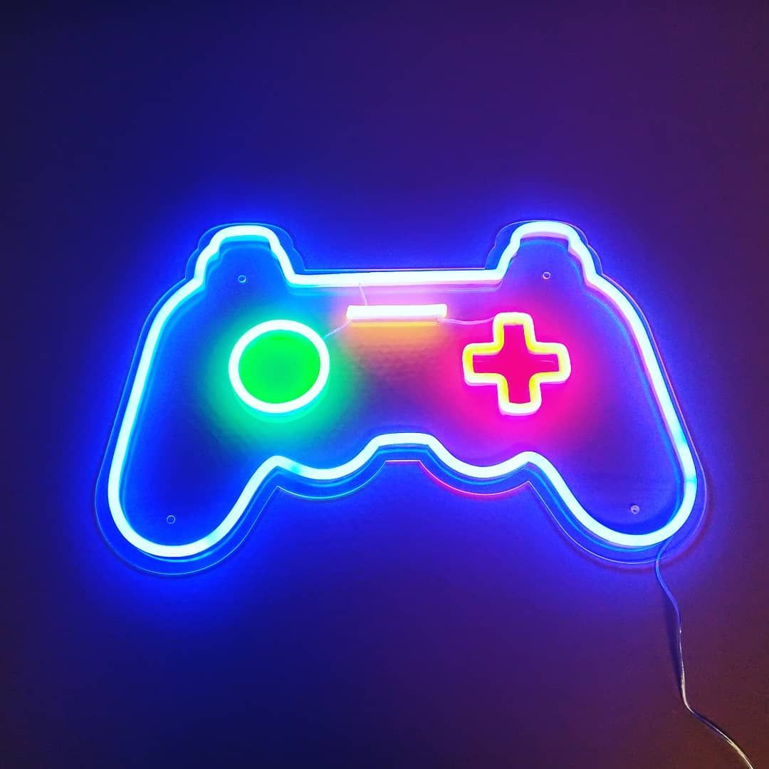 game controller Game controller art, Video game bedroom