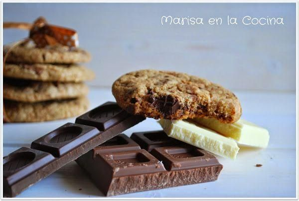 American Chips Cookies a los tres chocolates. ¡Puro placer!