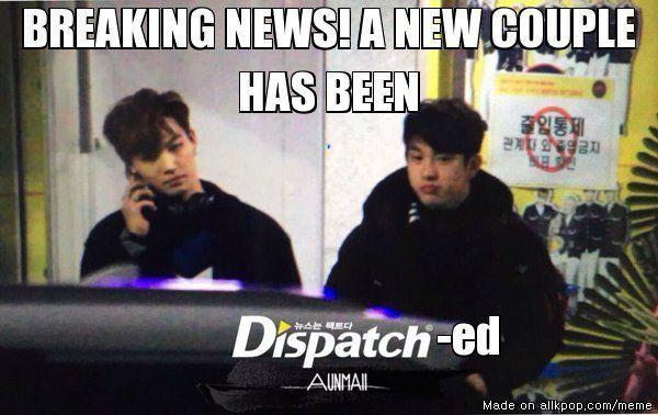 Fun Couple Meme : Dispatch ed jb jr fun kpop ^.^ pinterest meme center