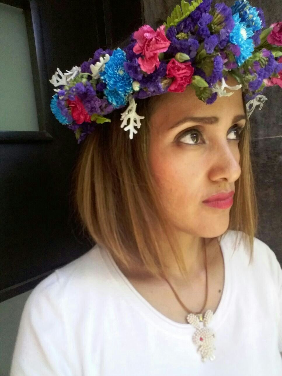Corona Floral Natural Floral Crown Pinterest Floral Crown And