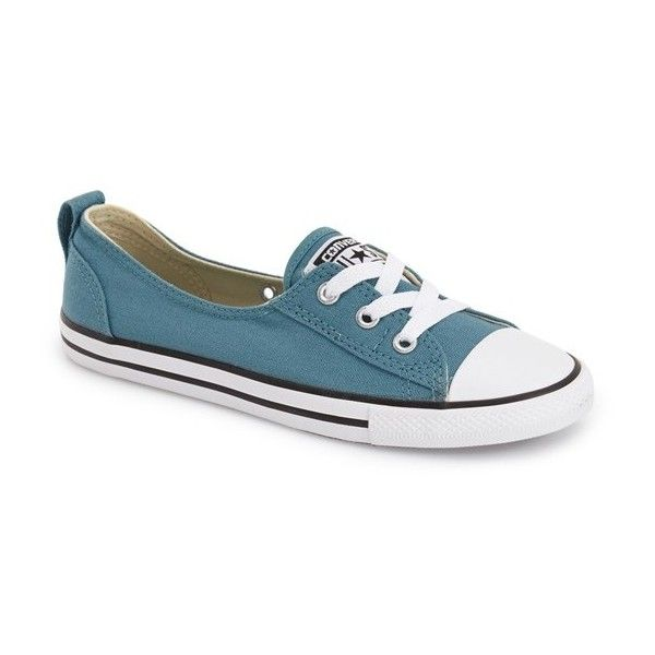 Converse Chuck Taylor All Star Ballet Sneaker (910 MXN) ❤ liked on Polyvore  featuring shoes 2ffab3f9d