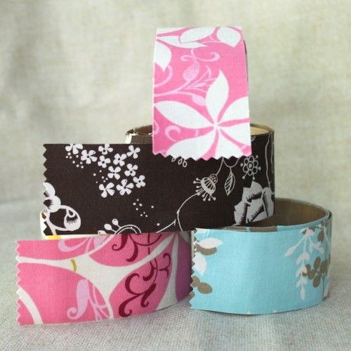 how to make your own fabric tape
