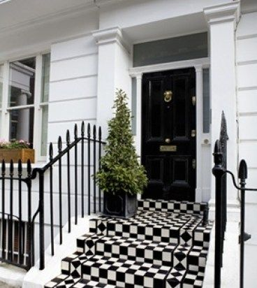 Amazing Black and White Townhouse via Pinterest   MY HOUSE TO BUILD ...
