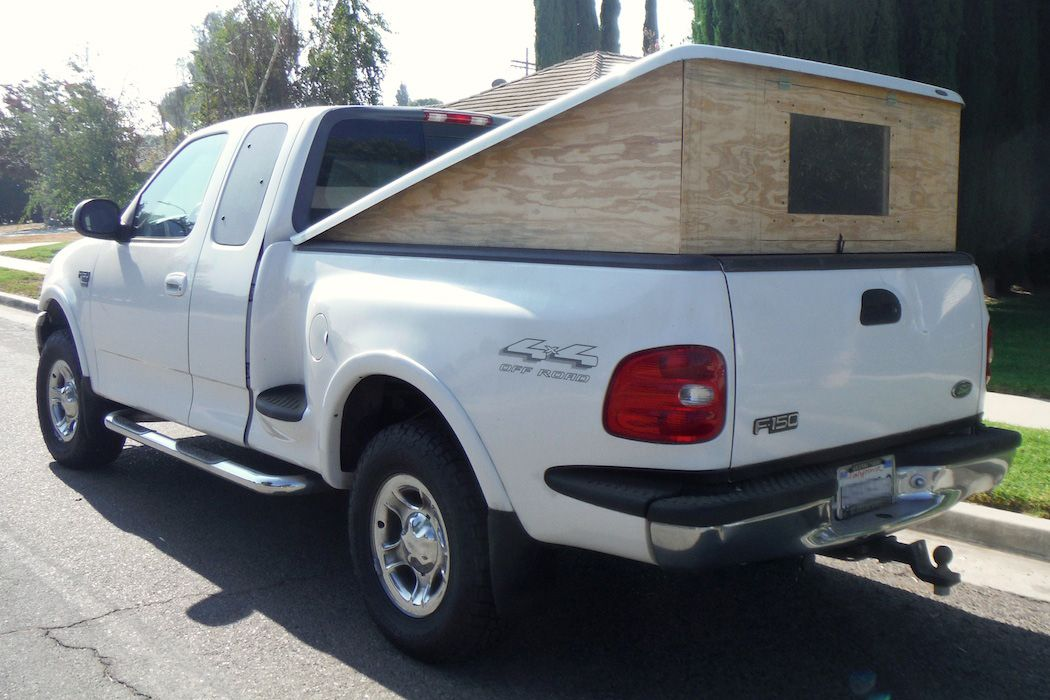 Truck Bed Camper Shell Tents Truck bed camper, Truck bed