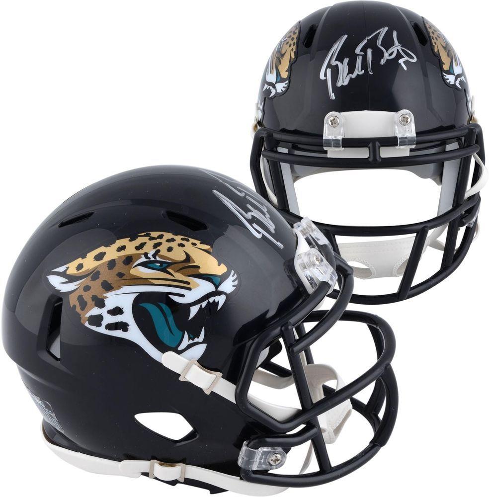 20179cdc Blake Bortles Jacksonville Jaguars Autographed Riddell Speed Mini ...