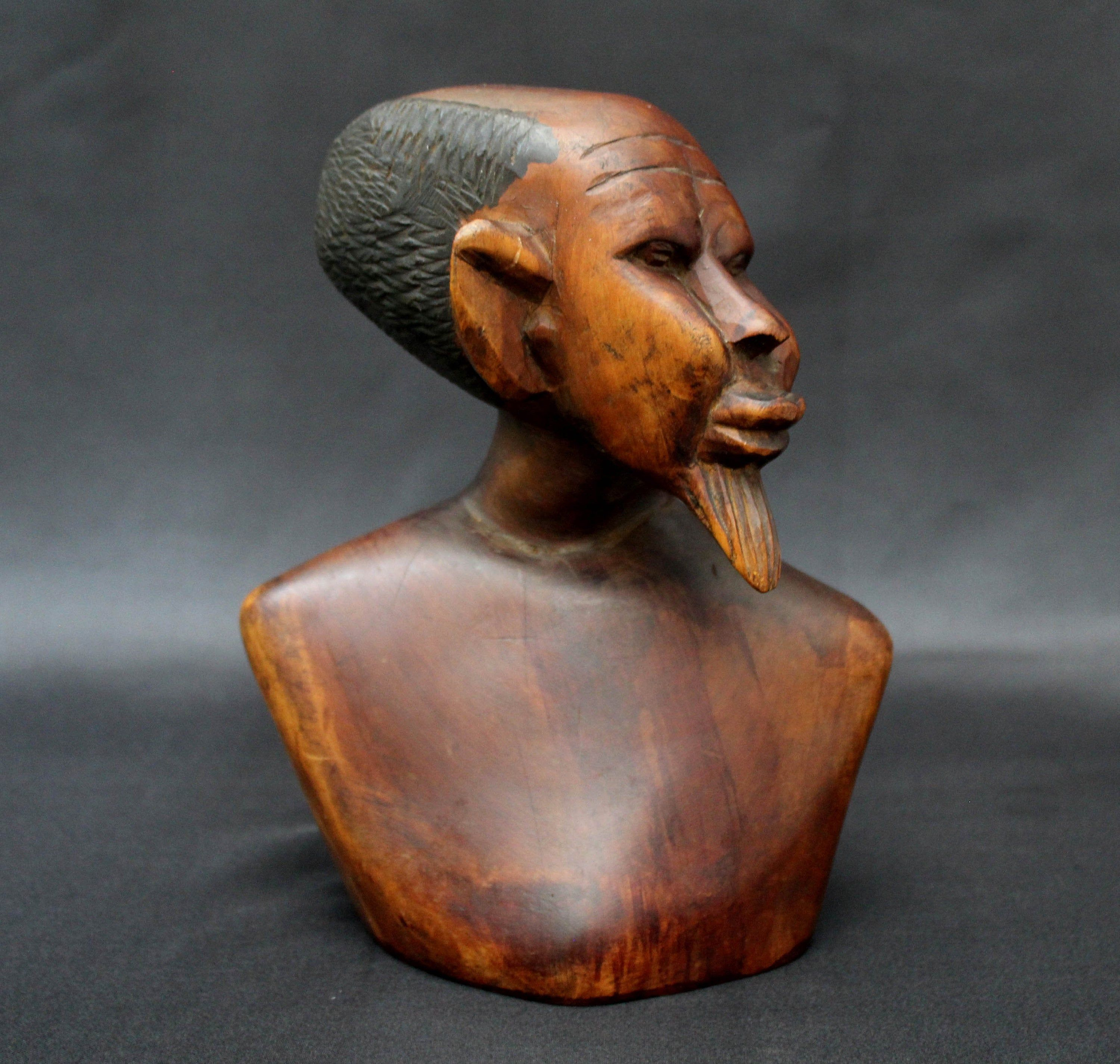 African Ethnographic Tribal Ebony Wood Carving