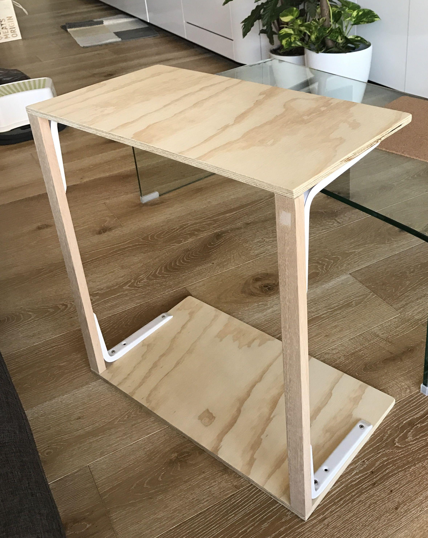 Diy sofa side table diy sofa side table pinterest sofa side diy sofa side table geotapseo Gallery
