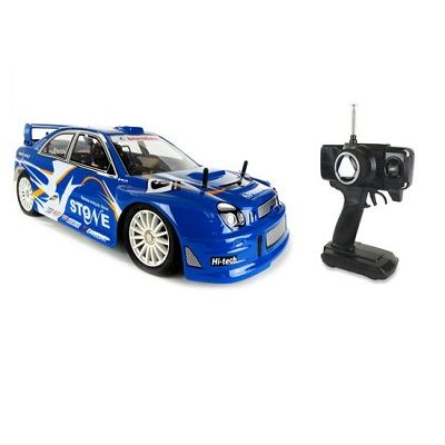 Subaru WRX STI Style 1:8 Scale RTR Nitro RC Car - A 4WD 65mph ready to run remote control car