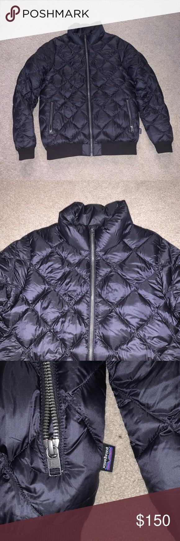 Patagonia Women Quilted Black M Puffer Jacket Patagonia Womens Puffer Jacket Women Jackets [ 1740 x 580 Pixel ]