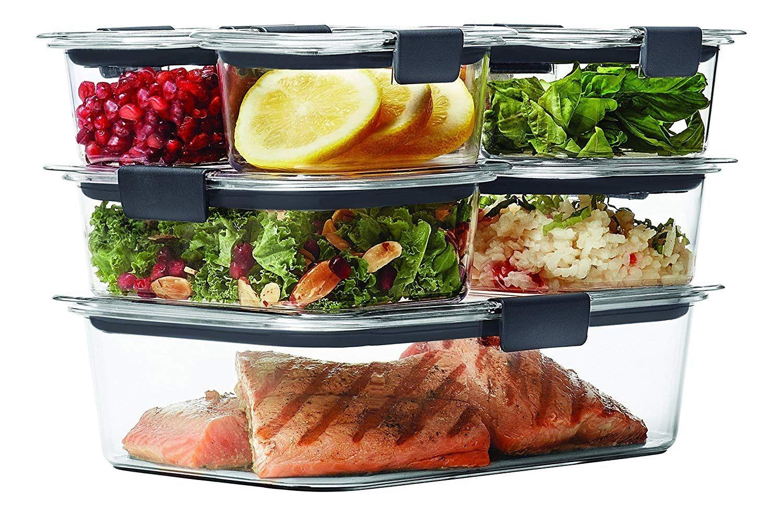 Amazon >> Rubbermaid Brilliance Food Storage Container, 14 ...