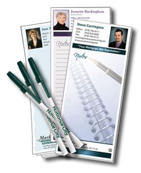 Notepads Are Por Marketing Tools For Real Estate Agents