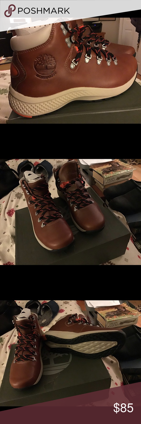 NWT Timberland hiking boots. Size men's 11. New men's