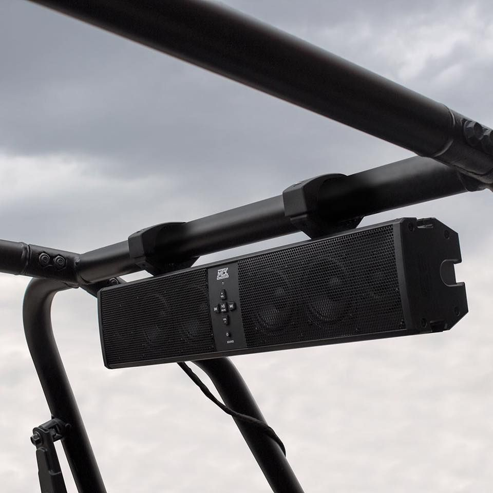 mud6spbt all weather bluetooth sound bar for utv sxs jeep dunebuggy sandrail golfcart boat atv tractor or almost anything with a battery  [ 960 x 960 Pixel ]