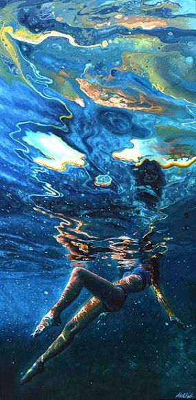 From Out of Darkness – Underwater Painting