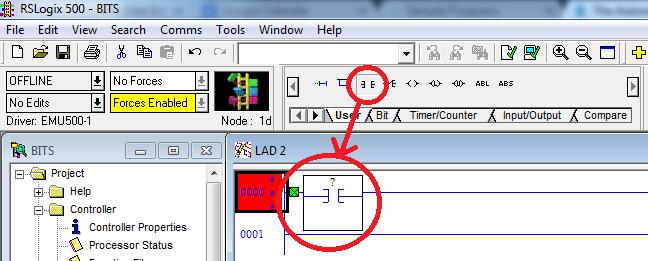 RSLogix 500 XIC Instruction | PLC programming | Plc