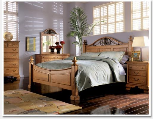 Bedroom sets westchester oaks bedroom sets mobel inc for Design sale mobel