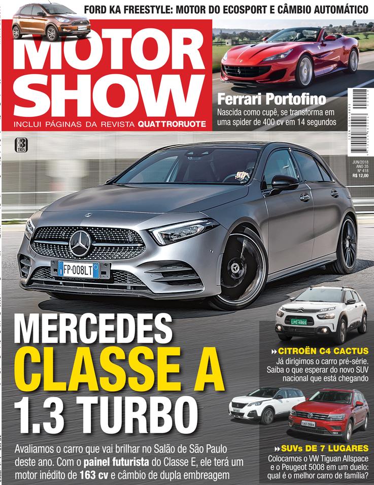 Autonews Motor Show De Junho Mercedes Classe A   Turbo Avaliamos