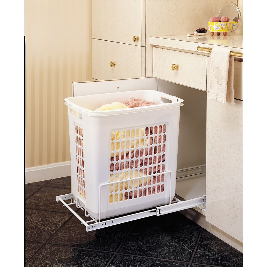 Lowes Laundry Baskets For My Custom Closet Shop Revashelf 12In W X 18In D X 18In H 1