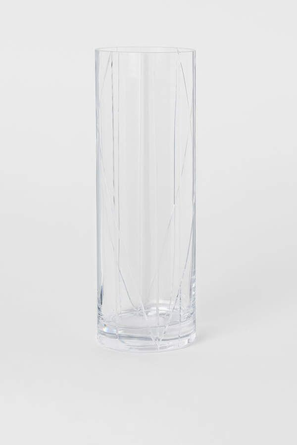 Tall Clear Glass Vase Small Glass Vases Clear Glass Vases