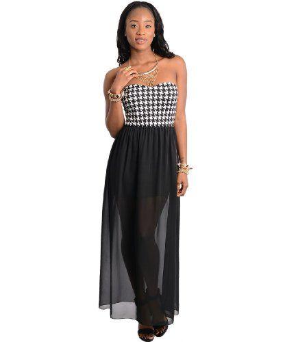 Sweetheart Chiffon Maxi Dress