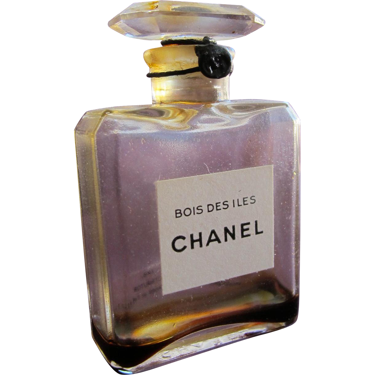 1930 S Chanel Perfume Bottle Bois Des Iles Thin Glass Top Unopened With Cord And Tag Chanel Perfume Bottle Chanel Perfume Perfume Bottles