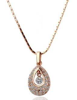 Necklace sale !  18K Gold Pendant Necklace now only $15.95 with free int'l shipping