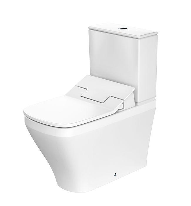 Duravit Sensowash duravit sensowash slim seat with durastyle coupled toilet with