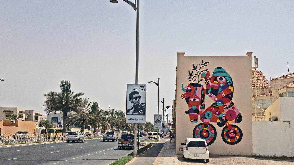 شارع الجميرا دبي Street Art Lorch Rubens