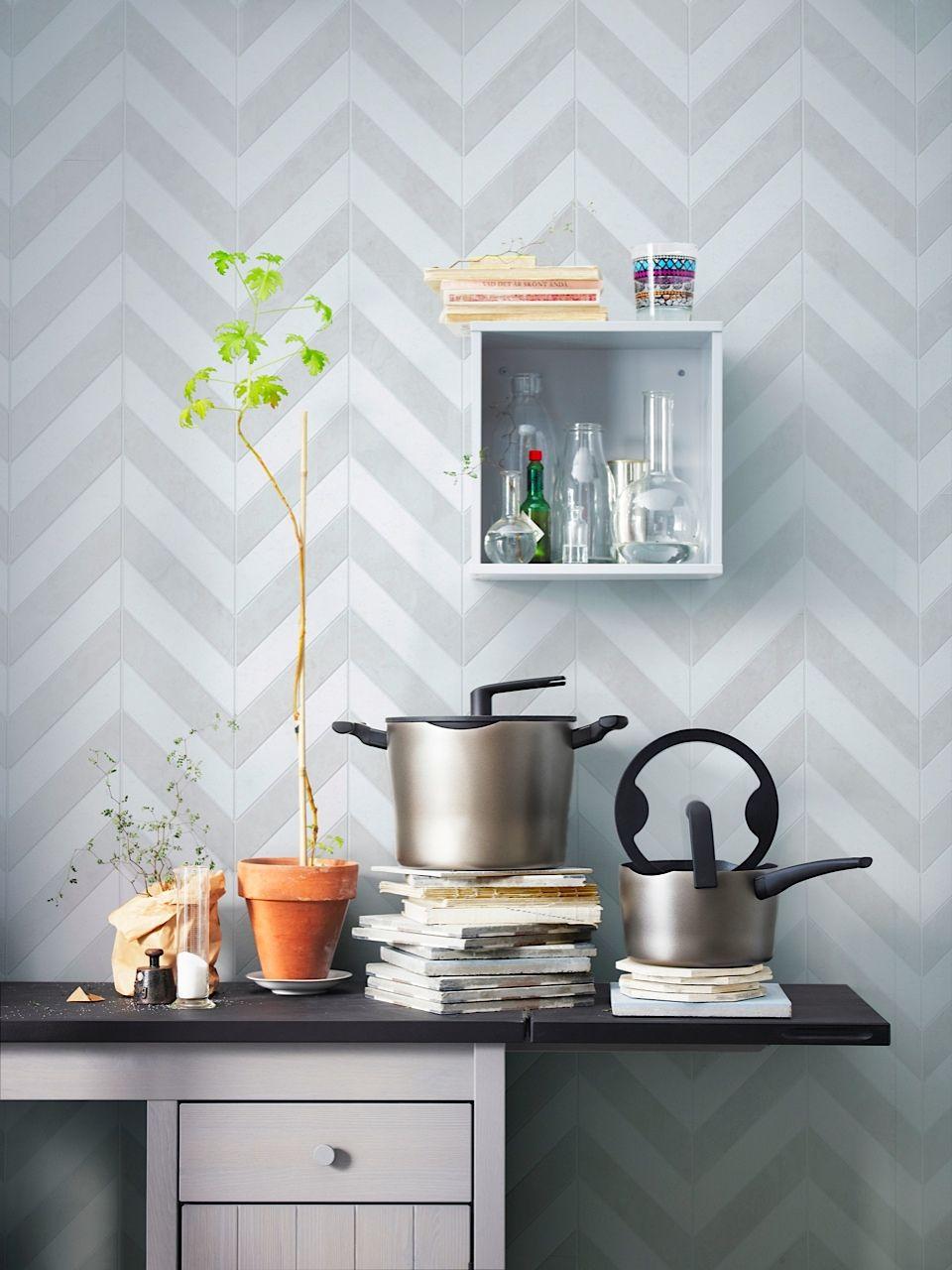 Blog roundup Ikea kitchen, Modern dining room, Wall