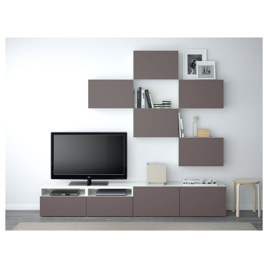 Tv Stand Stands Ikea Com Besta Unit Modern Grey Floating Shelves With Doors 63 Lowline Cabinet Outstanding