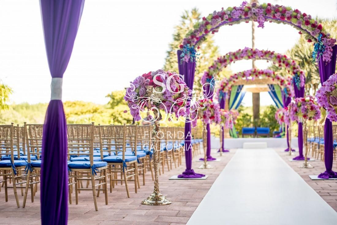 Ssuhaag garden wedding decorators wedding decor florida for Decoration vendors
