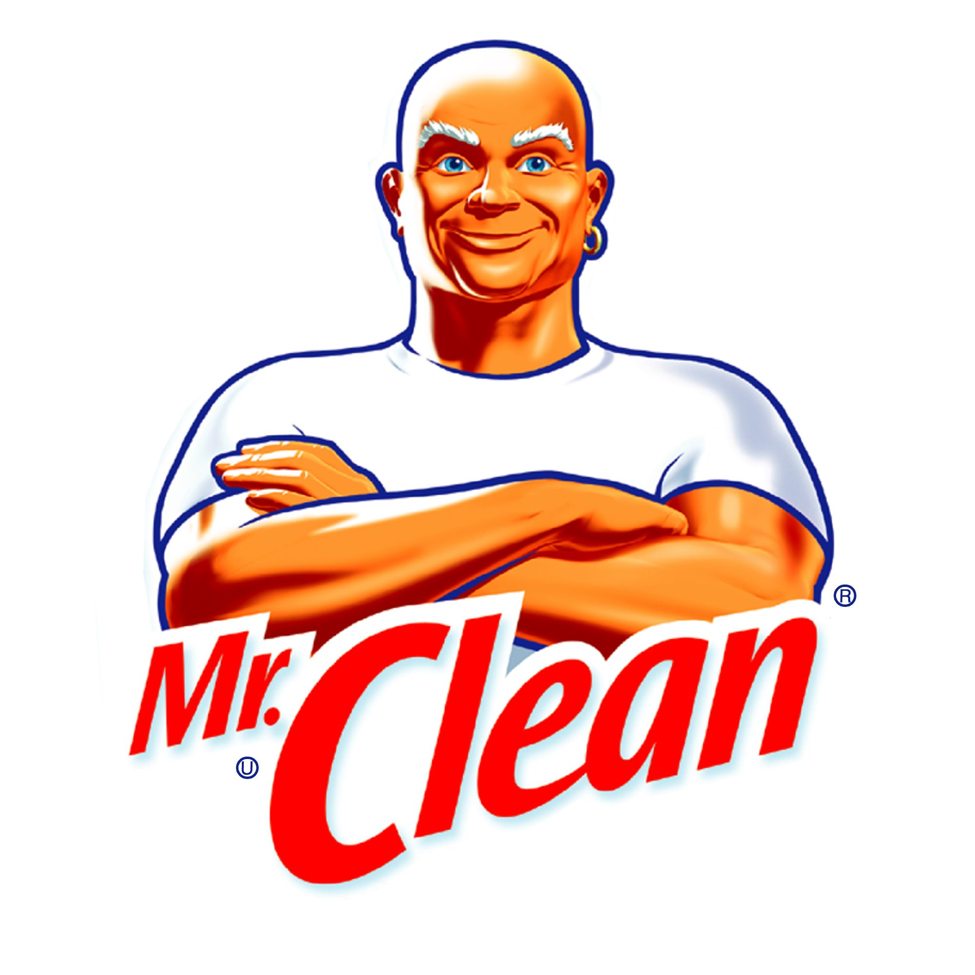 Guy Cleaning Kitchen: Mr Clean, Cleaning And Logos