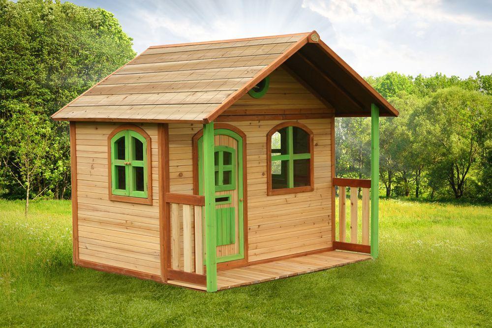 Axi Spielhaus Milan mit Veranda, Holz Spielhaus, Haus