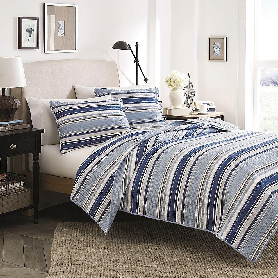 Stone Cottage Fresno Full Queen Mini Quilt Set In Blue