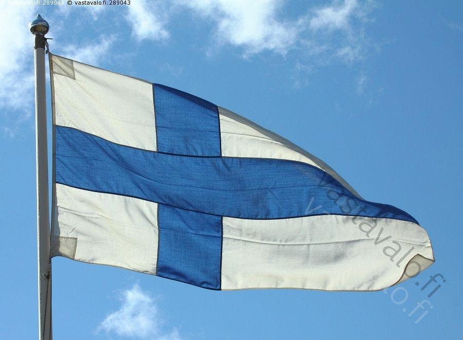 Kuva: Siniristilippu - siniristilippu suomen lippu suomi isänmaa ...
