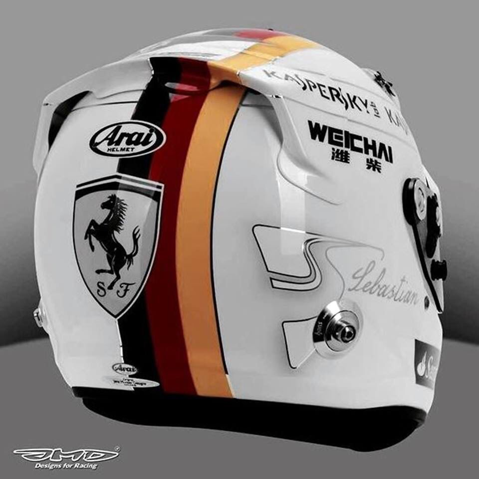 Helm Design vettel helm design gp canada 2015 cascos bike custom