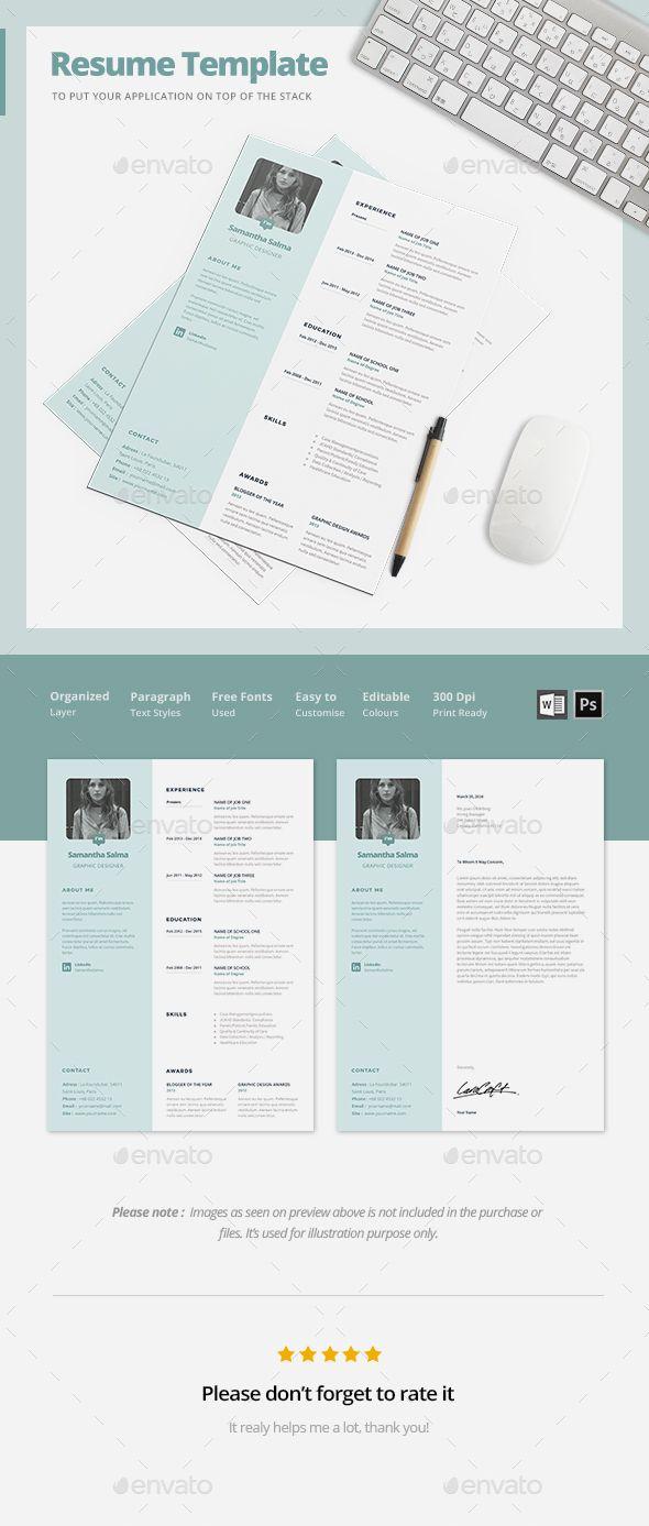 Buy simple resume template