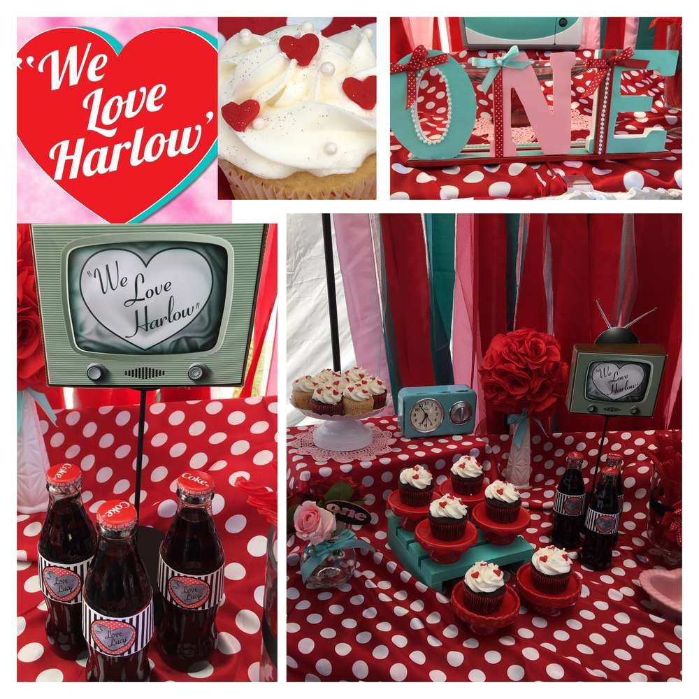 What An Amazing I Love Lucy Birthday Party! See More Party